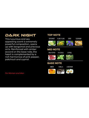 Парфюмерия Shaik SHAIK / Духи By Shaik Perfume DARK NIGHT, 50 мл (фото, вид 5)