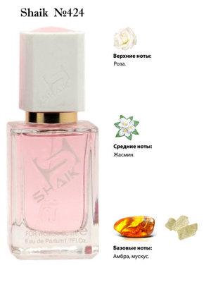 Парфюмерия Shaik SHAIK / Парфюмерная вода № 424 Intense Roses Musk, 50 мл. (фото)