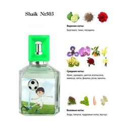 Парфюмерия Shaik SHAIK / Парфюмерная вода № 503 CAPITAN TSUBASA FOR BOYS 50 мл