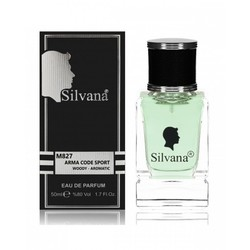 Парфюмерия Silvana Silvana M827 Arma Code Sport Woody - Aromatic 50 мл