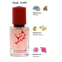 Парфюмерия Shaik SHAIK / Парфюмерная вода № 409 Deep Roses Montale, 50 мл.