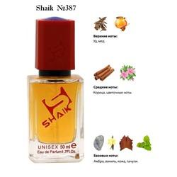 Парфюмерия Shaik SHAIK / Парфюмерная вода № 387 Honey Aoud Montale, 50 мл.