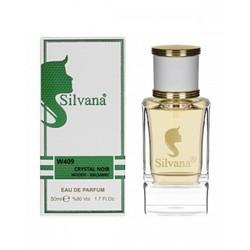 Парфюмерия Silvana Silvana W409 Crystal Noir Woody - Balsamic 50 мл