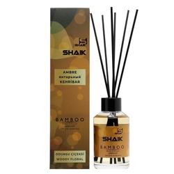 Аромадиффузор Shaik Аромадиффузор с палочками Shaik Bamboo Янтарный 100 ml
