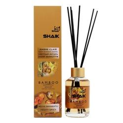 Аромадиффузор Shaik Аромадиффузор с палочками Shaik Bamboo Ambre Clair (Светлый Янтарь) 100 ml
